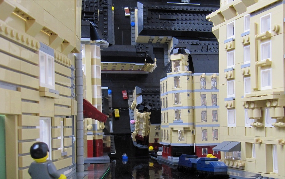 Inception in LEGO blokjes
