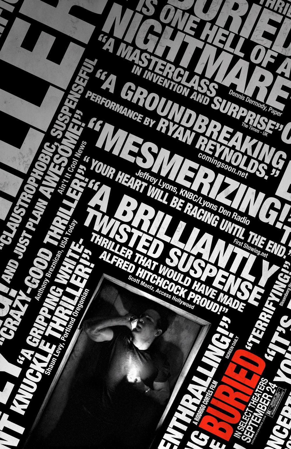 Nieuwe poster Buried