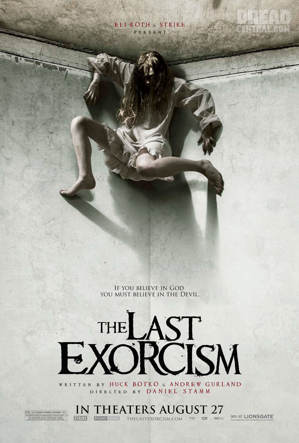 The Last Exorcism poster + clip