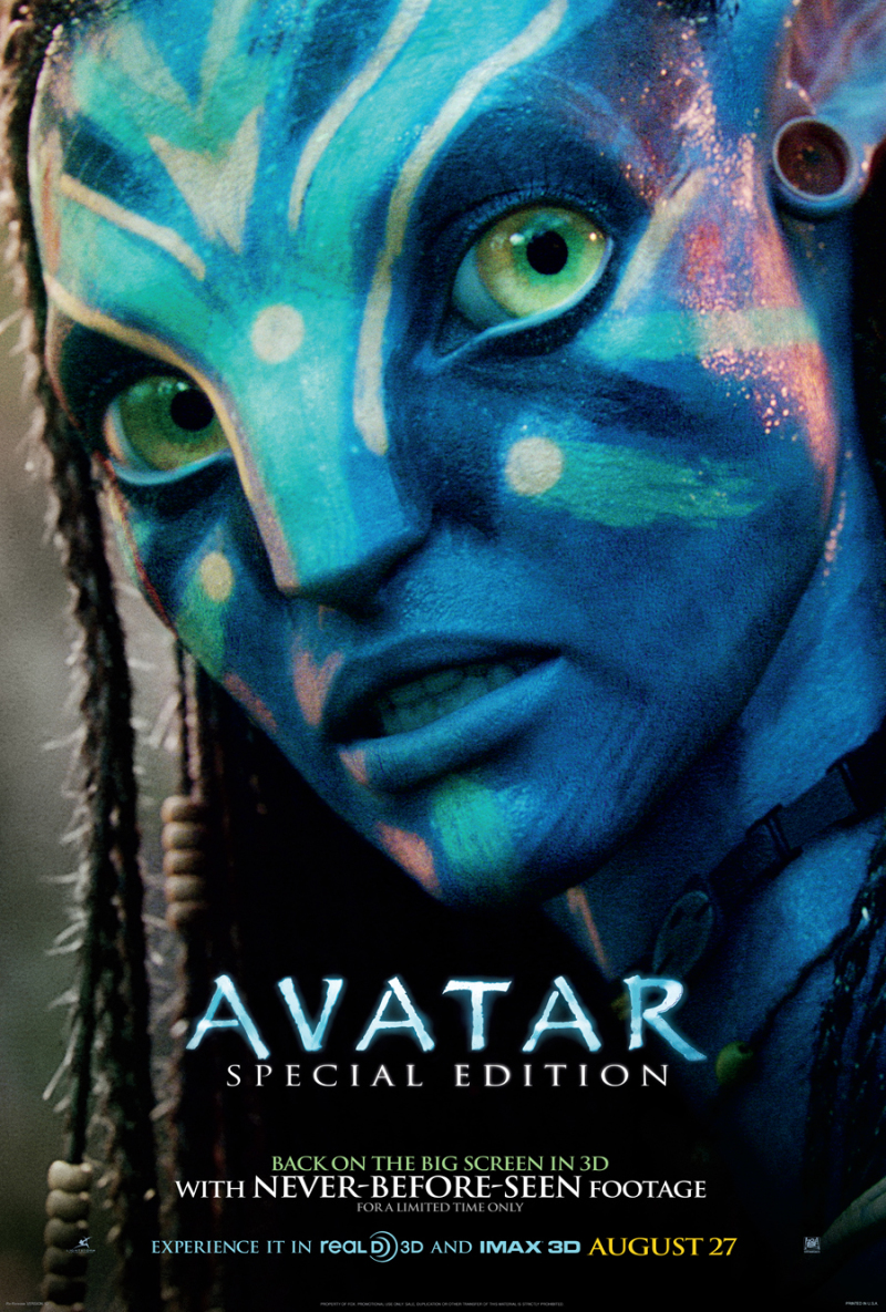 Avatar re-release poster