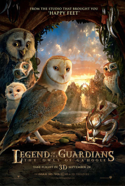 Nieuwe poster Legend of the Guardians