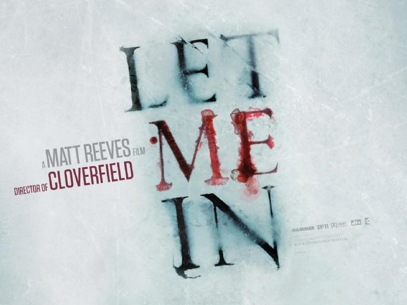 Eerste Let Me In poster