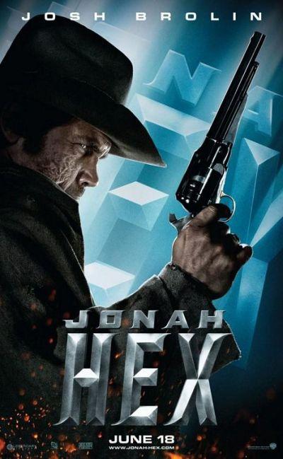 Indrukwekkende Jonah Hex karakterposters
