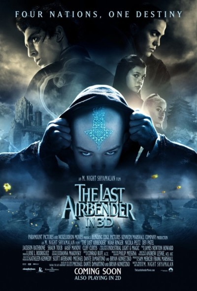 Definitieve The Last Airbender poster