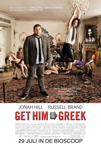 Leuke Get Him to the Greek Poster