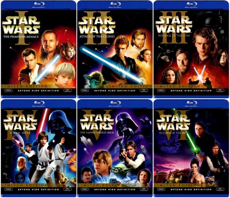 Blu-Ray Star Wars eindelijk in aantocht