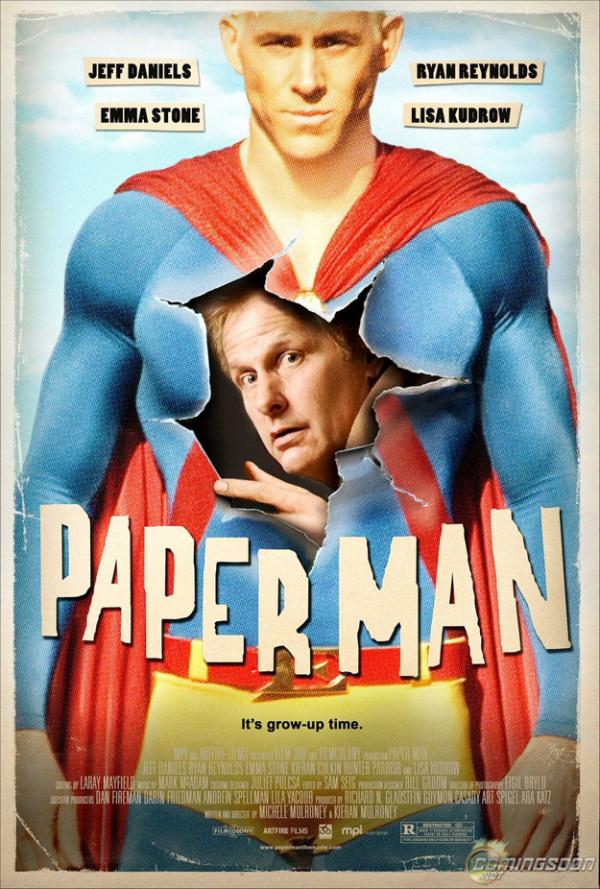 Nieuwe Paper Man poster