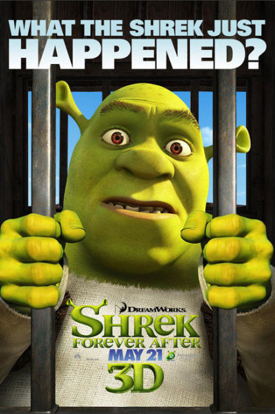 Shrek Forever After karakterposters