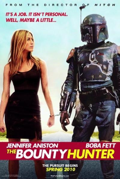 Boba Fett meets Jennifer Aniston