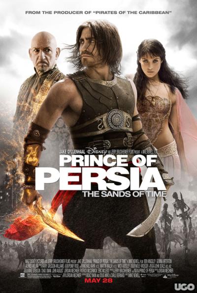 Definitieve filmposter Prince of Persia