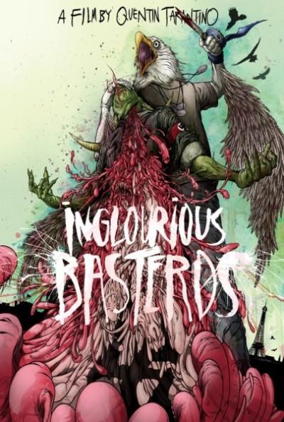 Kunstachtige Inglourious Basterds posters
