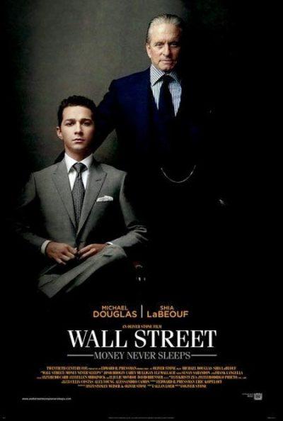 Officiële poster Wall Street 2