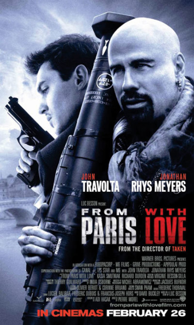 Filmposter From Paris with Love