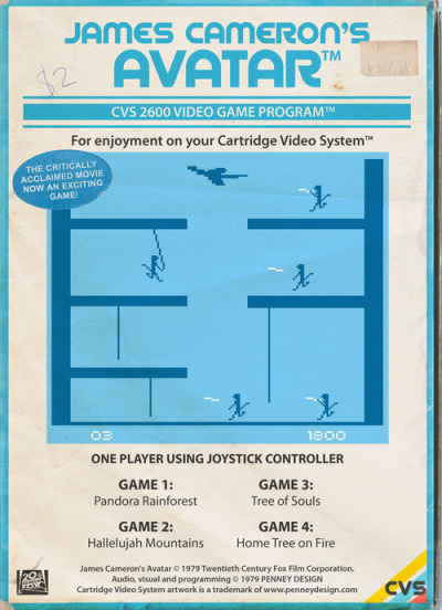 Hedendaagse films als retro videogames