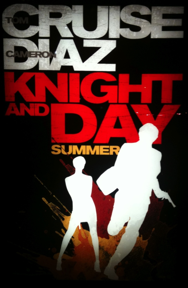 Eerste poster Knight & Day