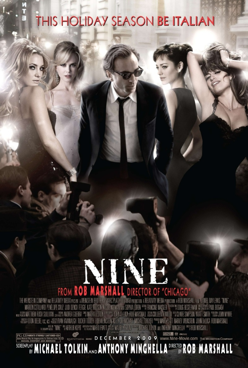 Nieuwe poster Nine