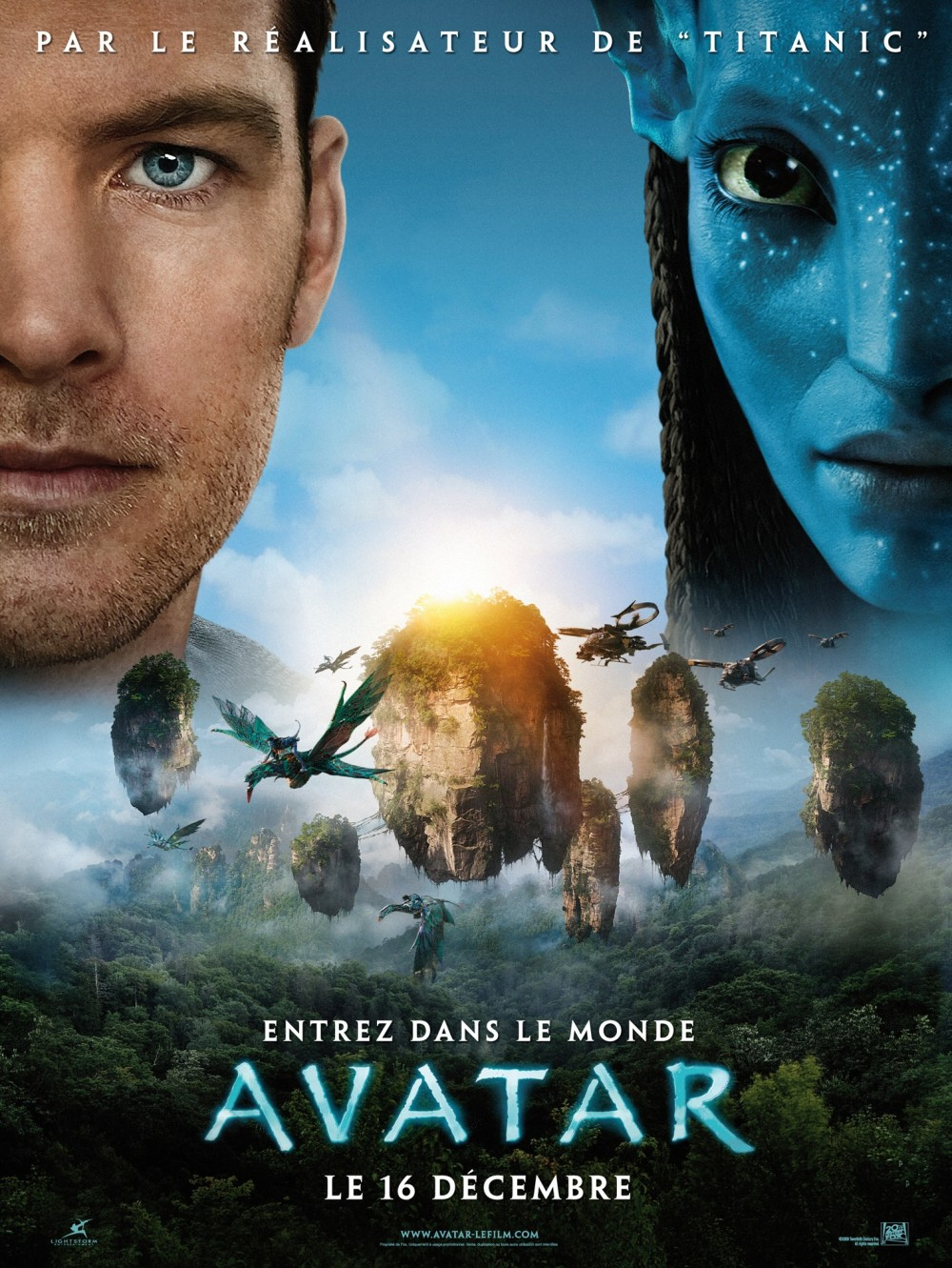 Definitieve Franse poster Avatar