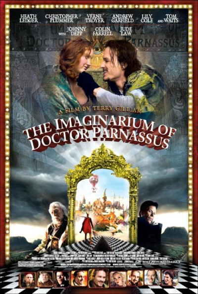The Imaginarium of Dr. Parnassus US poster