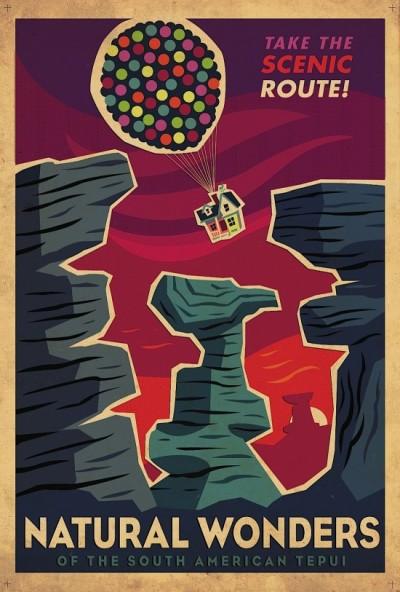 Pixar gaat Art Deco.