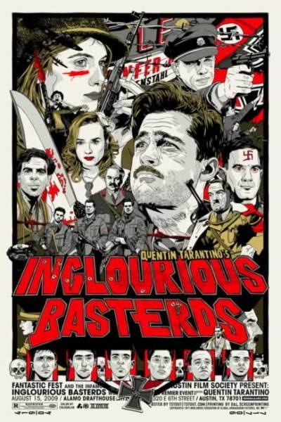 Laatste Basterds posters