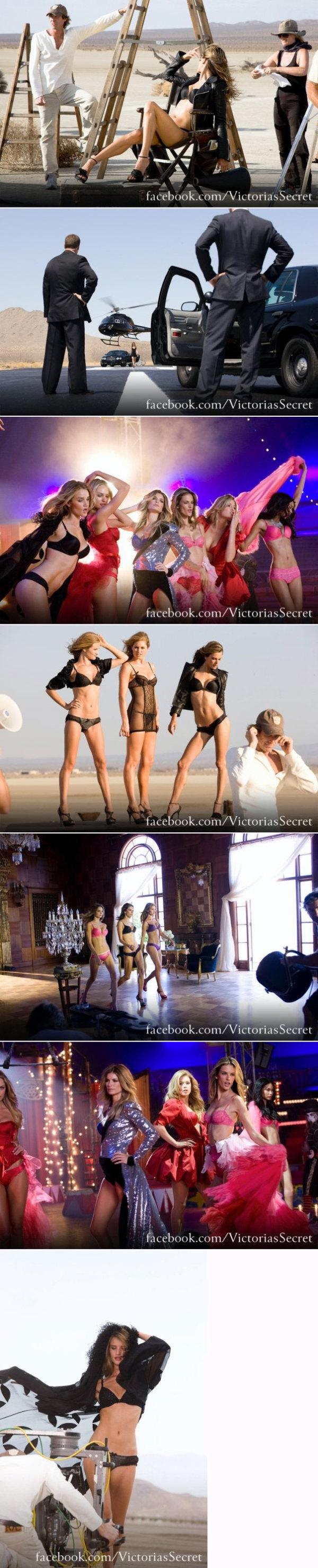 Victoria's Secret tv-spot voor Michael Bay