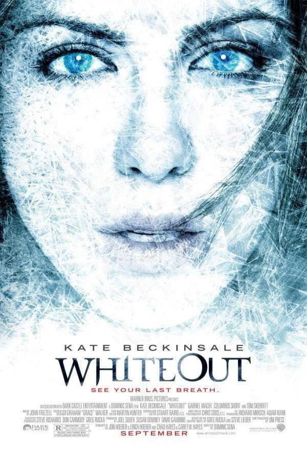 Nieuwe poster voor Warner Bros. Pictures' Whiteout