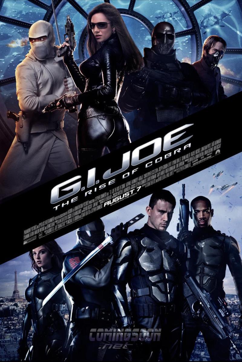 Nieuwe poster G.I. Joe: The Rise of Cobra
