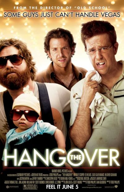 Vier posters The Hangover