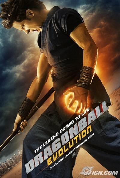 Nieuwe Dragonball Evolution posters