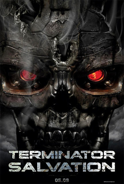 Officiële Terminator Salvation poster
