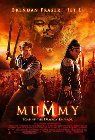 5 clips The Mummy 3