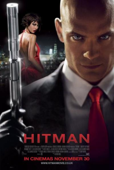 Internationale poster Hitman