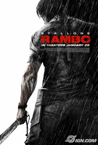 Poster Rambo 4