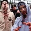 Simon Pegg en Nick Frost persifleren zichzelf in 'Shaun Of The Dead'