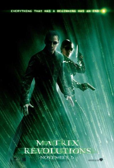De Internationale Matrix Revolutions Poster