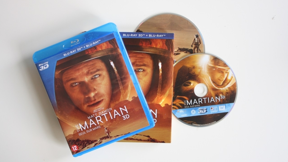 Blu-ray recensie: 'The Martian'