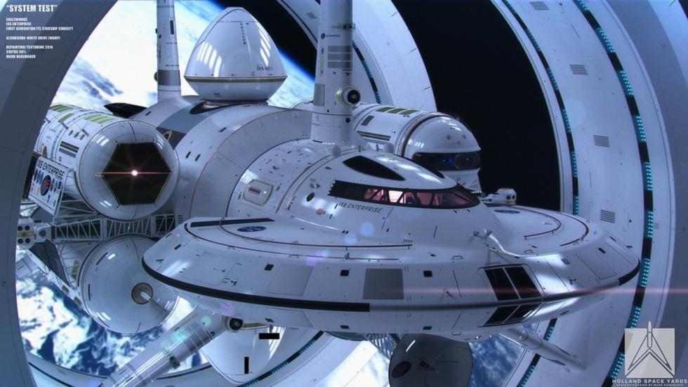 NASA maakt conceptontwerp warpschip