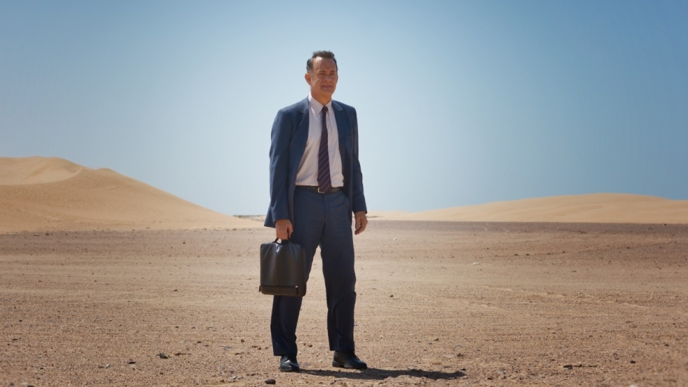 Tom Hanks naar Saudi-Arabië in trailer 'A Hologram for the King'