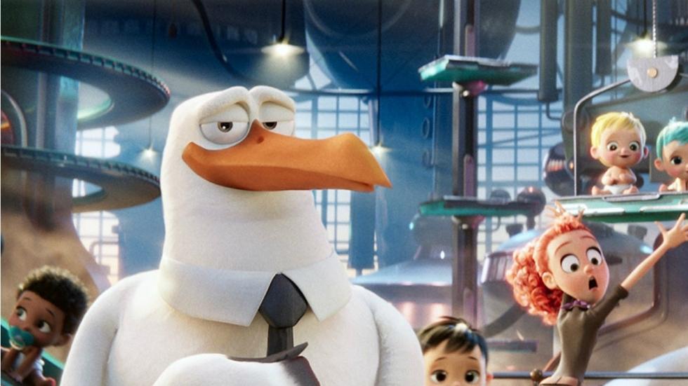 Andy Samberg als ooievaar in trailer 'Storks'