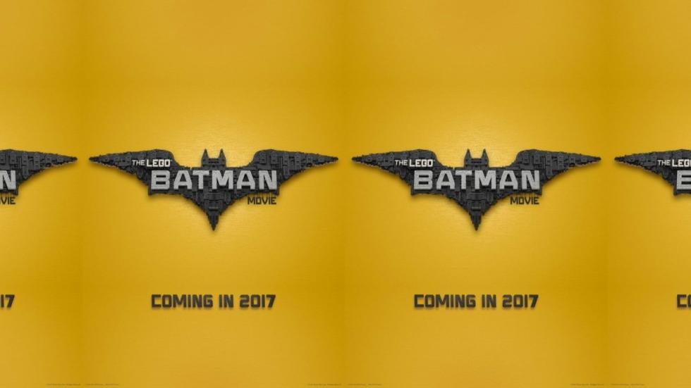 Eerste poster 'The LEGO Batman Movie' toont bekend logo