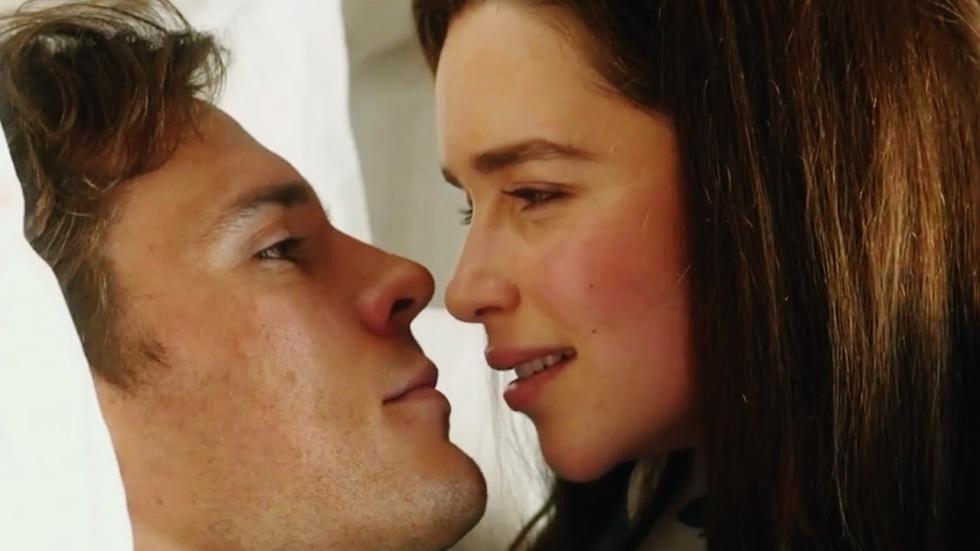 Emilia Clarke en Sam Claflin in nieuwe trailer 'Me Before You'