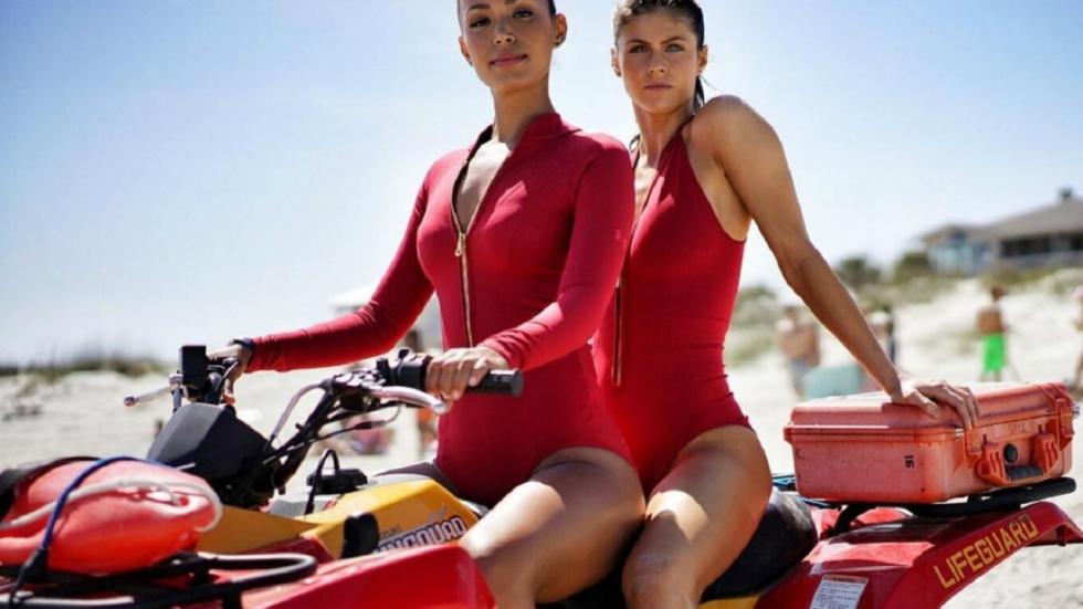 Foto's: nieuwe 'Baywatch' babes op een rij