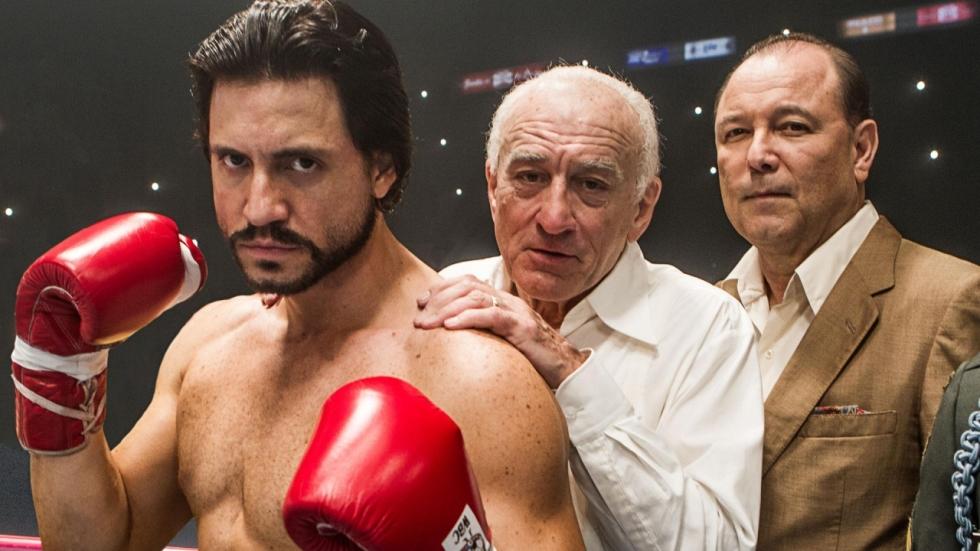 Eerste trailer voor boksfilm 'Hands of Stone'