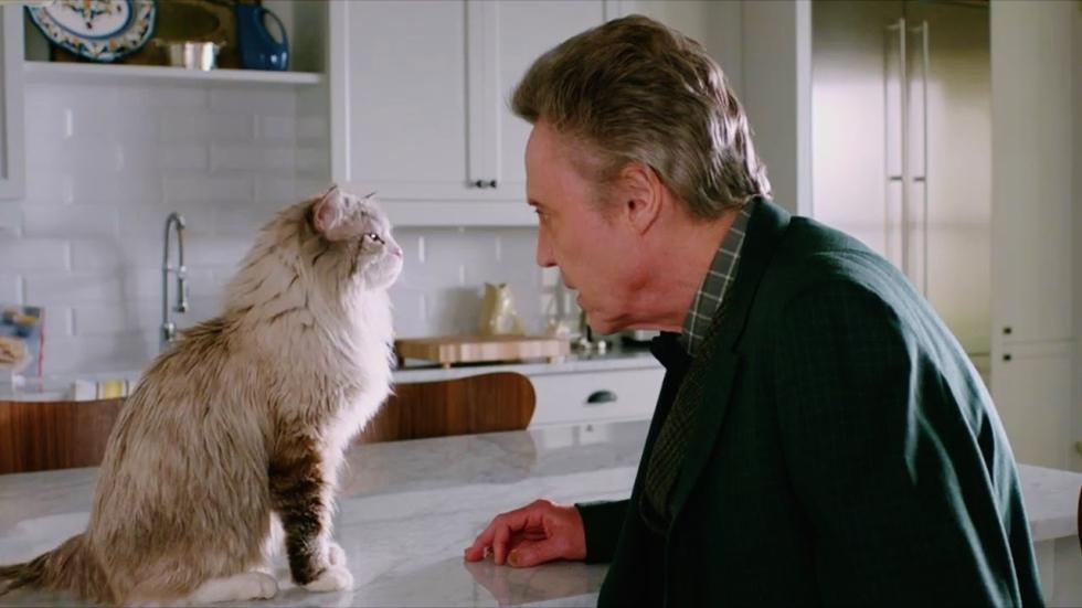 Miauw!! Kevin Spacey is een huisdier in de nieuwe 'Nine Lives' trailer