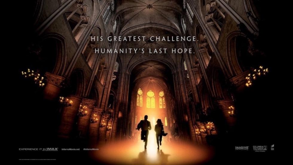Eerste posters Robert Langdon-film 'Inferno'