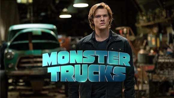Bizarre eerste trailer 'Monster Trucks'