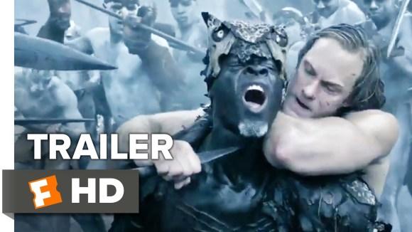 IMAX trailer 'The Legend of Tarzan' zit bomvol actie