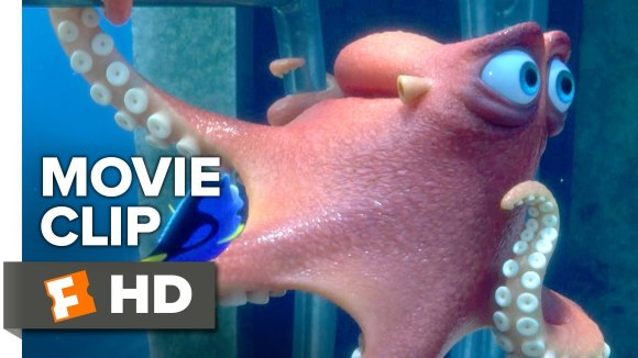 Finding Dory Clip: Go Through the Pipes