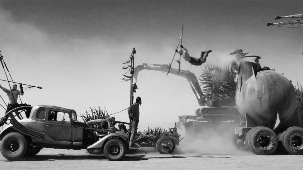 Zwart-wit versie voor 'Mad Max: Fury Road' komt er dan toch