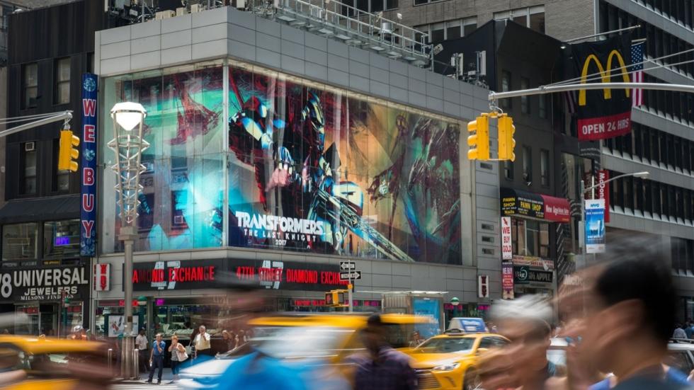 Eerste banner 'Transformers: The Last Knight'
